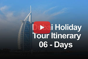 Dubai holiday package itinerary