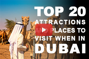Top 20 attractions to see when in Dubai