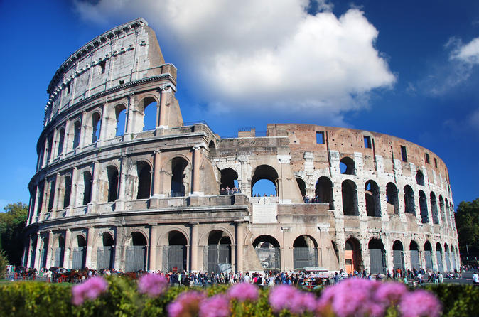 Ancient Rome and colosseum half day walking tour