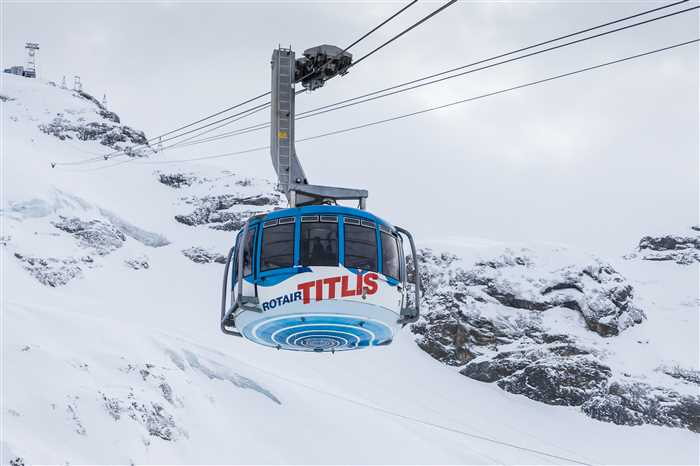Mount Titlis Cable Car in Switzerland