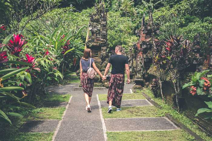 honeymoon couple during Bali vacation