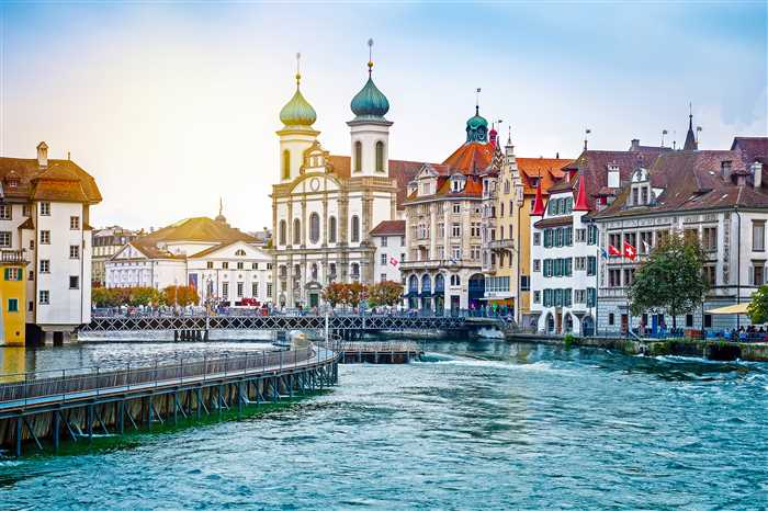 Lucerne old town Switzerland top attraction