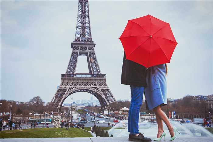 romantic holidays for couple in Paris, honeymoon vacation in France