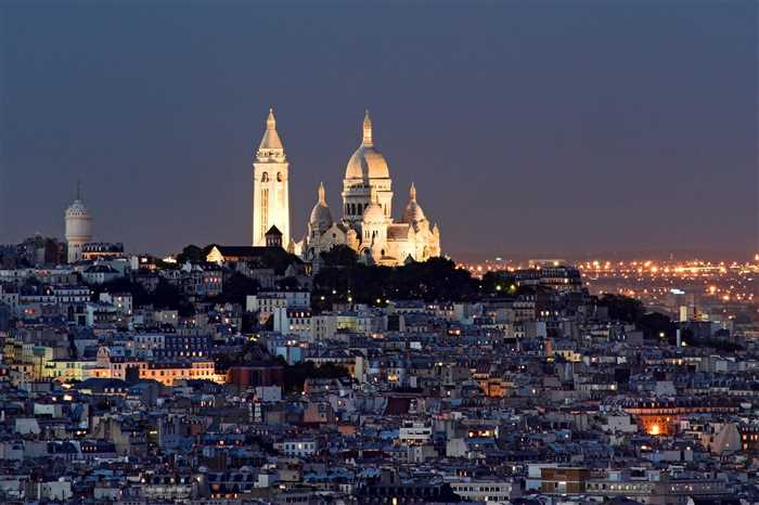 The summit of Montmartre Paris Top Attraction