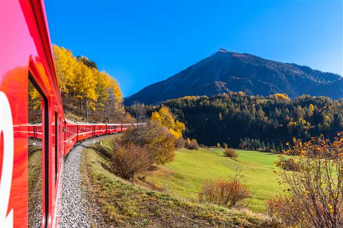 Swiss Travel Pass - Glacier Express in Engadin, Canton of Grisons, Switzerland