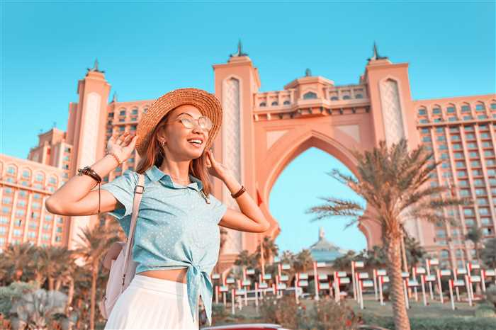 luxury Atlantis hotel, Jumeirah Palm Island in Dubai, UAE