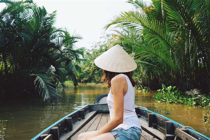 River tour on the Mekong Delta, Vietnam