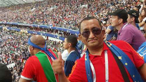 My Once in a lifetime moment, Final Match Crotia Vs France Luzniki stadium, Moscow Russia Worldcup'2018.jpeg