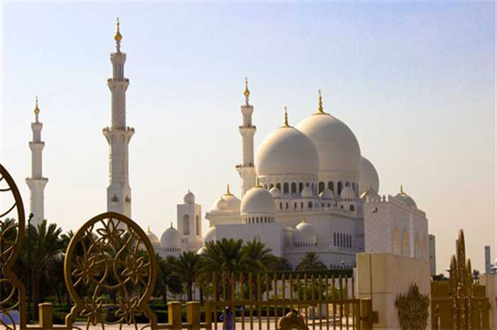 Grang Mosque, Abu Dhabi , Best Of Dubai And Abu Dhabi