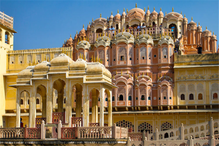 Hawa Mahal Copy , Best Of Rajasthan With Agra