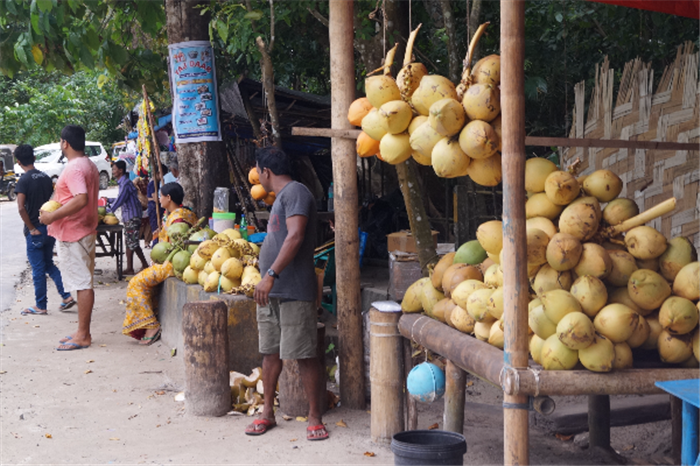 Kala Patthar Beach Market Haveloc Island Andaman Holiday Package , Amazing Andaman Holiday - Port Blair & Havelock Island