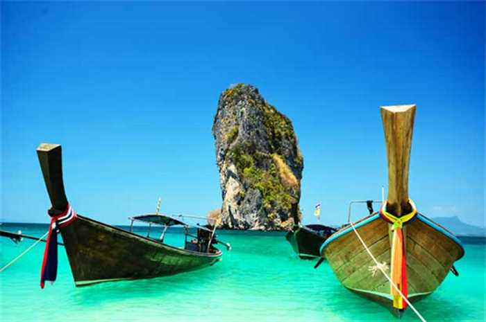 Long Tail Boat Krabi Phuket Holiday Package , Best Of Thailand Beaches With Phuket And Krabi