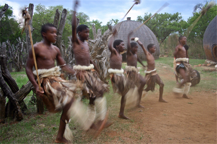 Zulu Youths  , Best Of South Africa With Cape Town, Garden Route, Knysna, Sun City, Johannesburg
