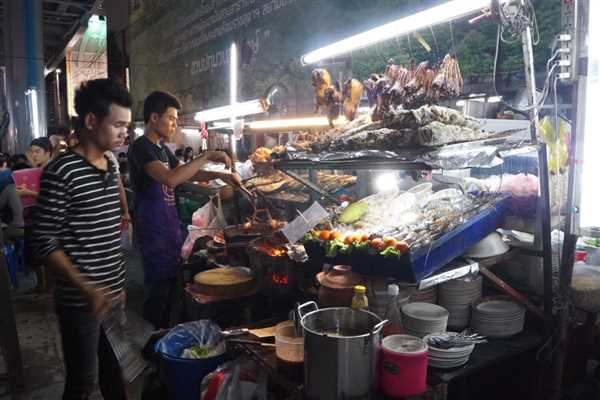Awesome street food in Bangkok