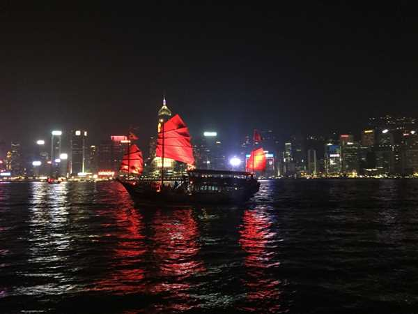 Hong Kong Harbour, A Symphony of Lights show