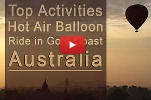 Top Activities - Hot Air Balloon Ride in Gold Coast, Australia